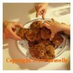 Cookies avec beurre avec oeufs
