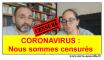 coronavirus nous sommes censures Coronavirus : nous sommes censurés