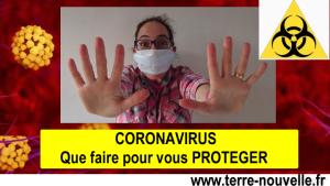 Coronavirus : que faire maintenant pour vous protéger (avant que le virus n'arrive à votre porte)...