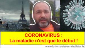 Coronavirus : la maladie n'est que le début des problèmes pour l'humanité....