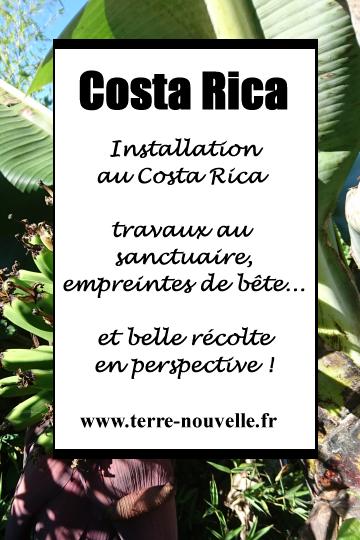 Installation au Costa Rica : les travaux au Sanctuaire avancent, et quelques surprises !...