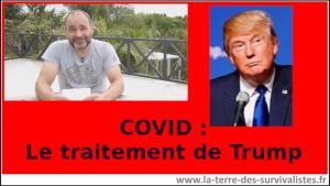 Covid-19 : lquel traitement est prescrit à Donald Trump (très intéressant !)