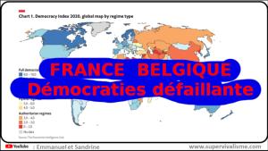 France, Belgique, démocraties défaillantes