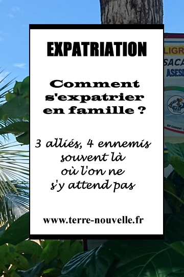 Expatriation en famille : 3 alliés, 4 ennemis