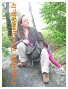 Femme survivaliste, sur Terre-nouvelle.fr