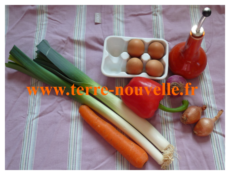 Un flan aux légumes façon terrine de légumes : délices en perspective