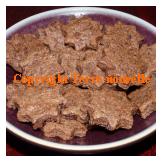 Biscuits de Sabbat sablés au chocolat sans oeufs