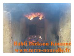 gazéification : méthane qui brûle