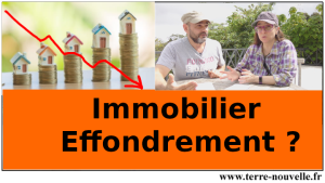 Immobilier, Effondrement ?!...