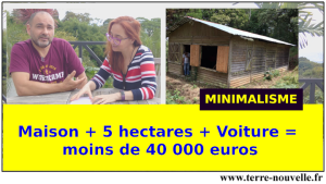 5 hectares + maison + voiture=40.000 euros, installation low cost au Costa Rica