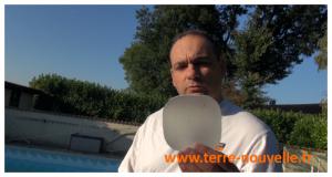 Réparation de liner : la pose et colle d'une rustine