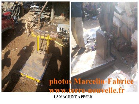 Marché de la récupération au Niger : la machine à peser