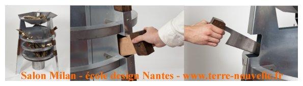 """Salon de Milan, école de design de Nantes : capsule confort, """"survival"""""""
