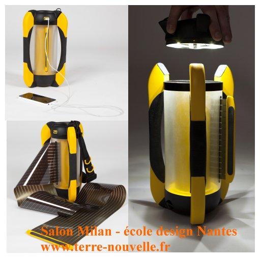 Salon de Milan, école de design de Nantes : la capsule lumière