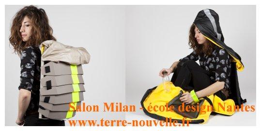 """Salon de Milan, école de design de Nantes : la capsule santé, """"survival"""""""