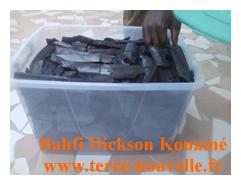 mon emballage de charbon de bambou