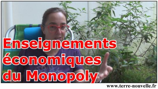 Les enseignements économiques du Monopoly