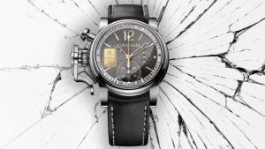"""Une montre """"survivaliste"""" avec un lingot d'OR de 1g, à utiliser en cas d'urgence..."""