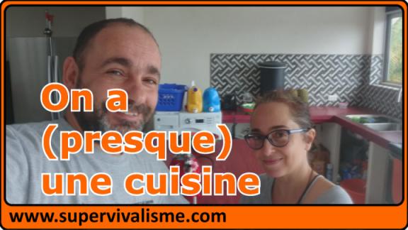 Travaux dans notre maison au Costa Rica : on a à nouveau une cuisine !... (enfin,  presque...)