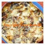 Pizza blettes tomate comté oeufs