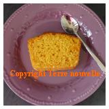 Cake sucré au potimarron