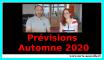 prévisions Automne 2020