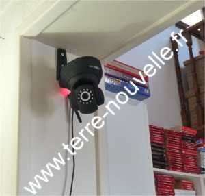 camera ip internet sécurité maison