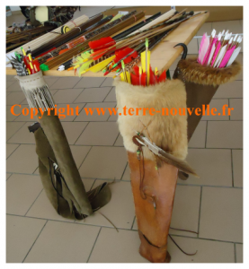 Matériel pour la chasse à l'arc, formation chasse à l'arc