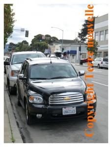 Chevrolet, chevy, voiture de location en Californie