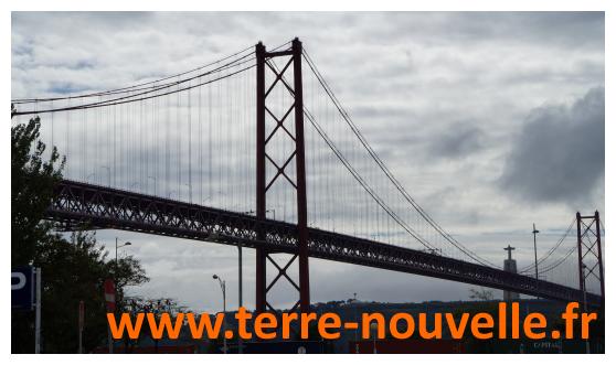 Voyage au Portugal : le pont du 25 avril