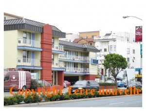 Voyage en Californie : hôtel La Luna à San Francisco